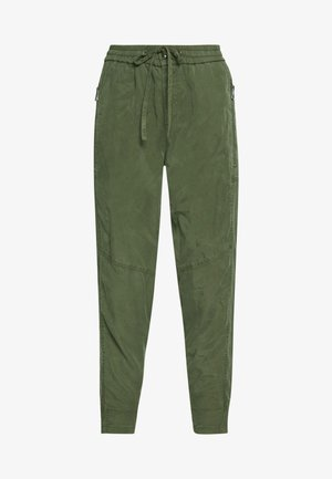 Trousers - soaked moss