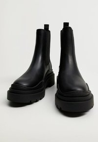 Mango - NACHO - Platform ankle boots - schwarz - 6