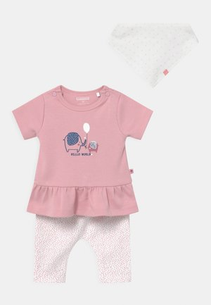 SET - T-shirt con stampa - light pink
