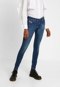 Diesel - SLANDY LOW - Jeans Skinny Fit - indigo - 0