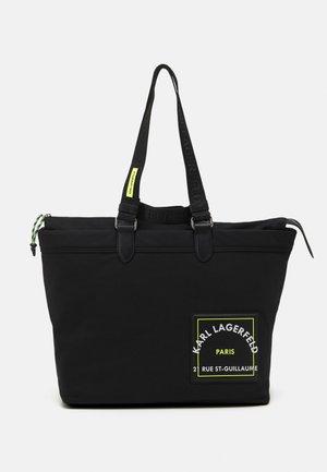 PATCH - Tote bag - black