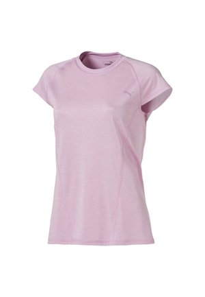Basic T-shirt - pale pink heather