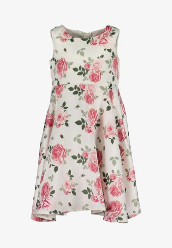 DRESSES - Day dress - rosa aop