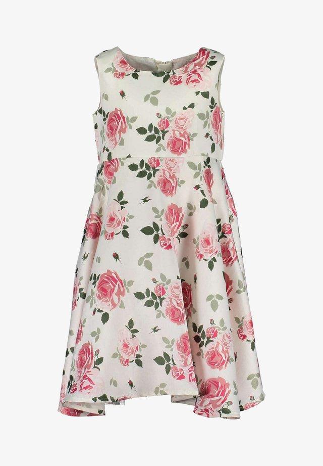 Robe d'été - rosa aop