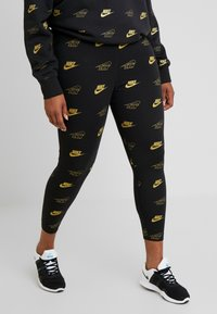 Nike Sportswear - SHINE PLUS - Leggings - Hosen - black - 0