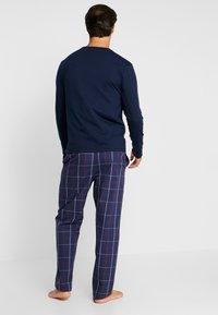 Pier One - SET - Pyjamaser - dark blue - 2