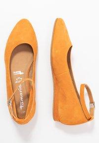Tamaris - Ballerina's met enkelbandjes - orange - 3