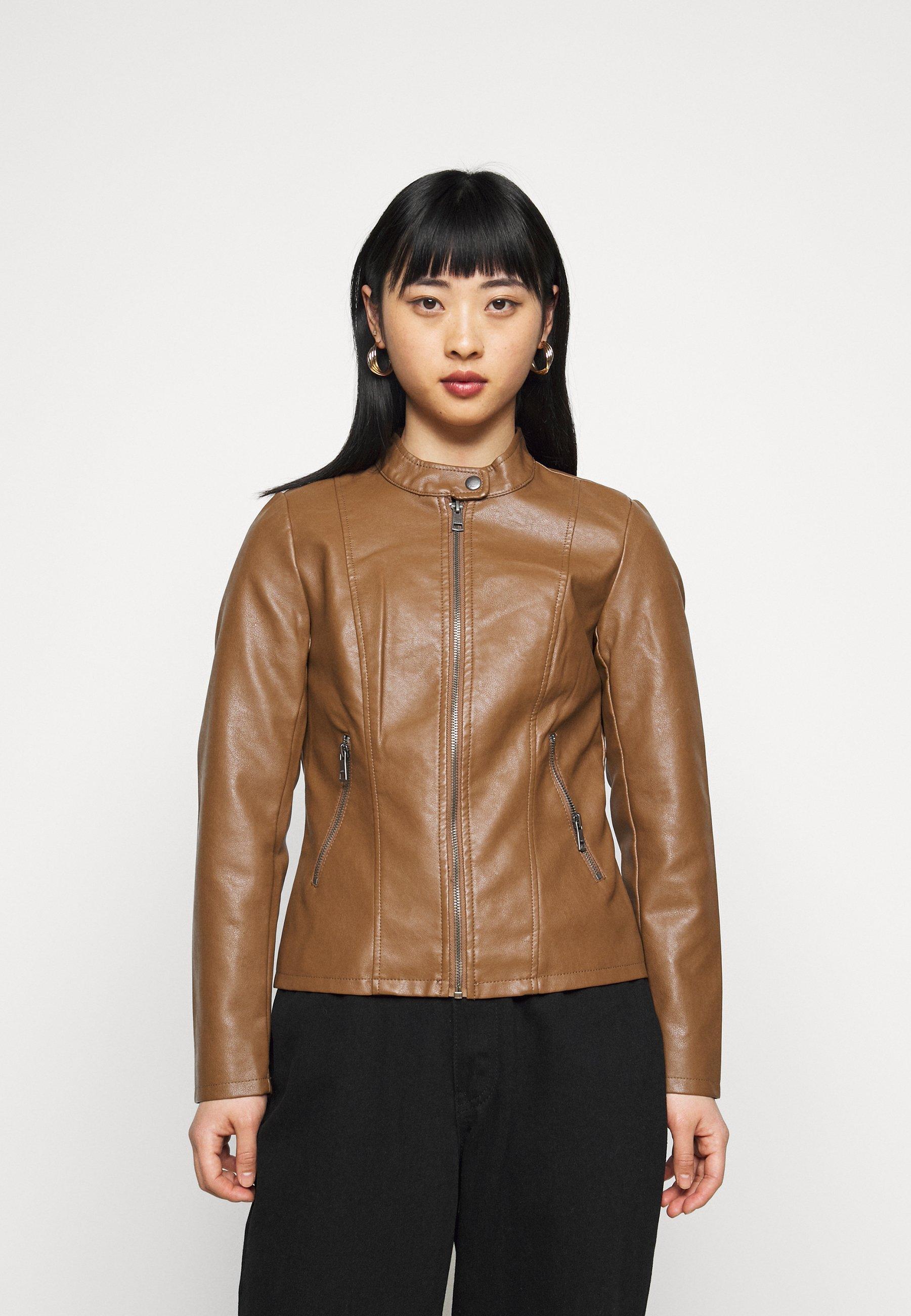Women ONLMELISA JACKET - Faux leather jacket