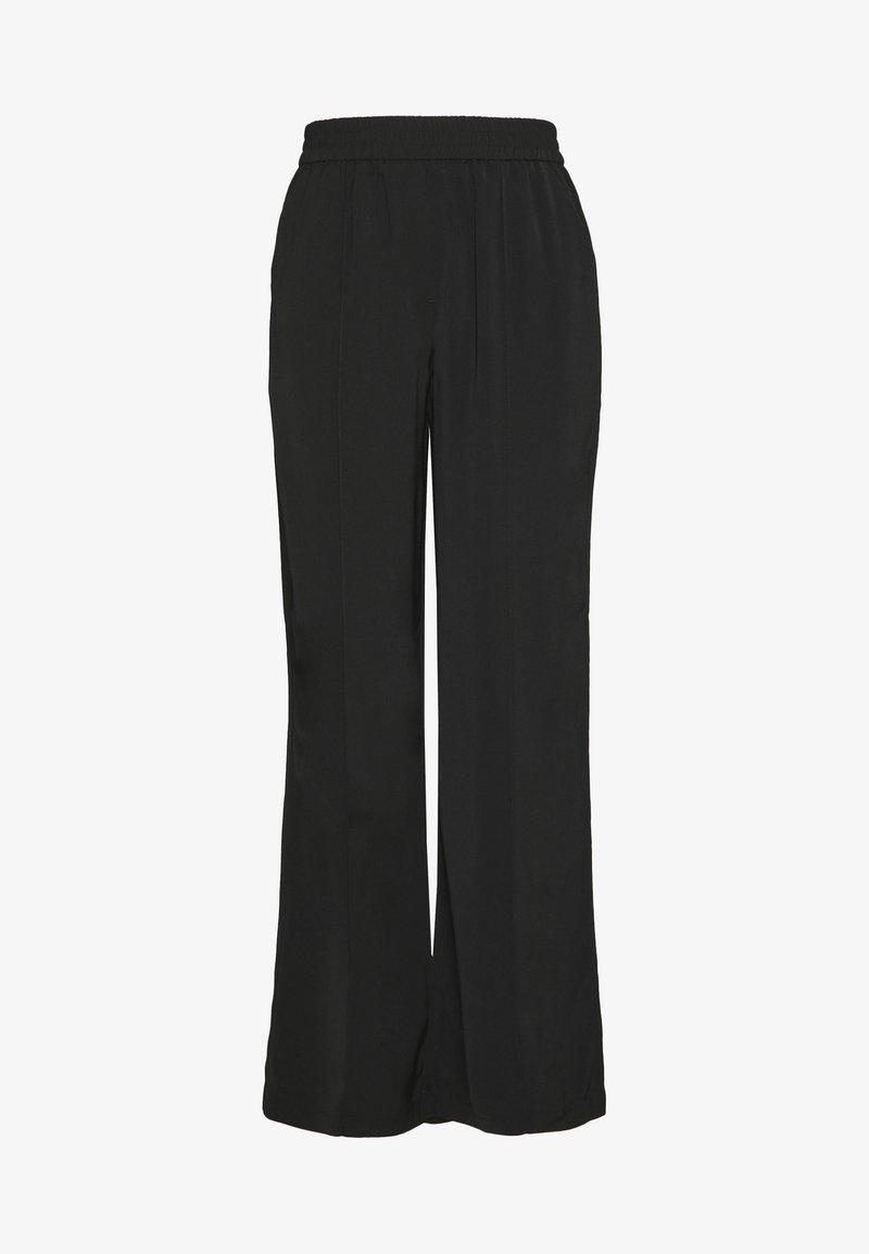 Vero Moda - VMKARINA WIDE PANT  - Pantaloni - black