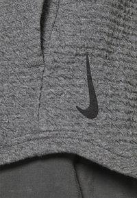 Nike Performance - YOGA - Hoodie - dark grey/heather/black - 3