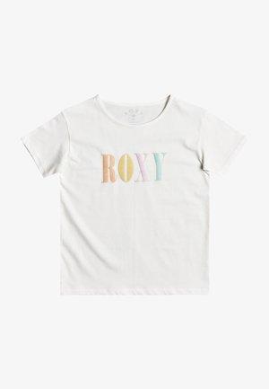 Print T-shirt - snow white