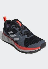 adidas Performance - TERREX TWO GORE-TEX TRAIL RUNNING SHOES - Laufschuh Trail - black - 3
