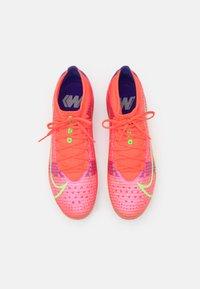 Nike Performance - MERCURIAL VAPOR 14 PRO FG - Moulded stud football boots - bright crimson/metallic silver - 3