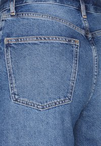Even&Odd - Wide Leg Cropped jeans - Straight leg jeans - blue denim - 6