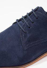 Pier One - Smart lace-ups - navy - 5