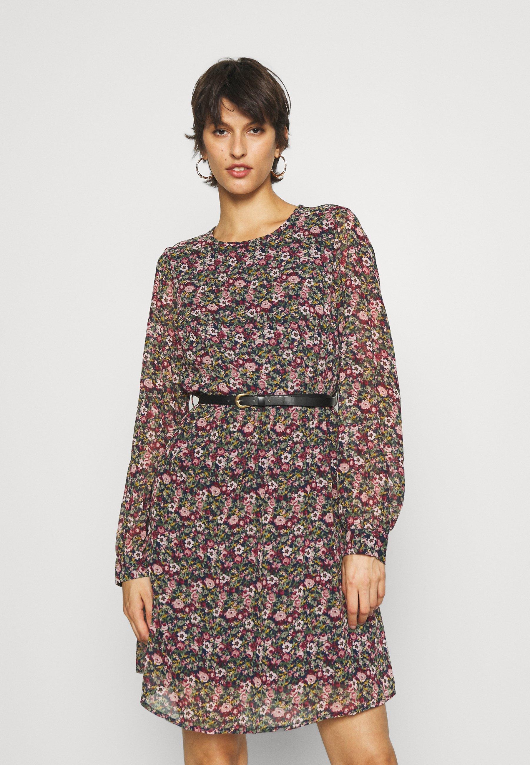 Damen VMPRINTY BELT SHORT DRESS - Freizeitkleid