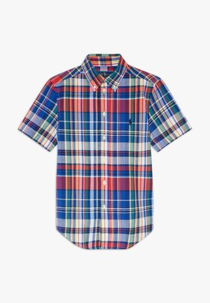 Shirt - red multi