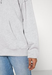Even&Odd - Mikina na zip - mottled light grey - 5