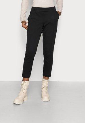 TRACK PANTS CROPPED - Kalhoty - black