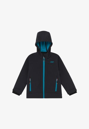 KID FIX HOOD UNISEX - Soft shell jacket - antracite-rif