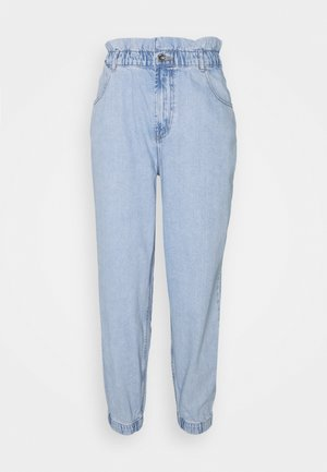 ONLOVA ELASTIC LIFE CARROT - Jeans Tapered Fit - light blue denim