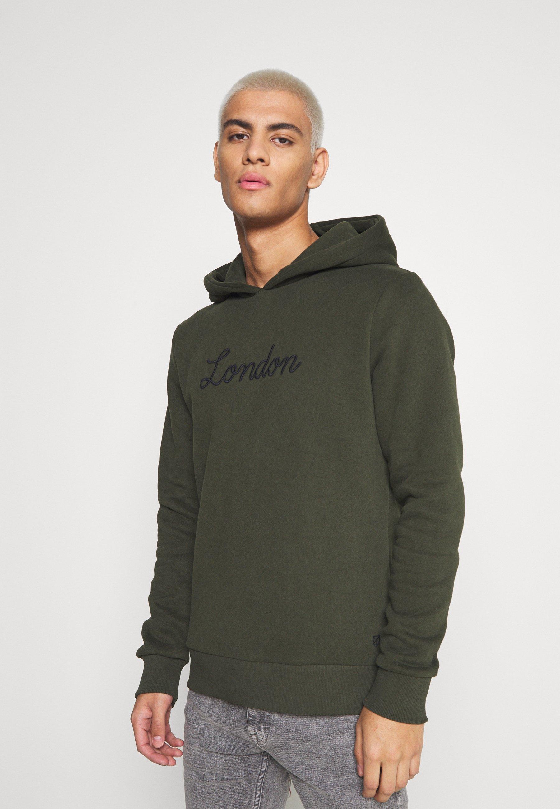 Homme JPRBLAROSCOE HOOD - Sweatshirt