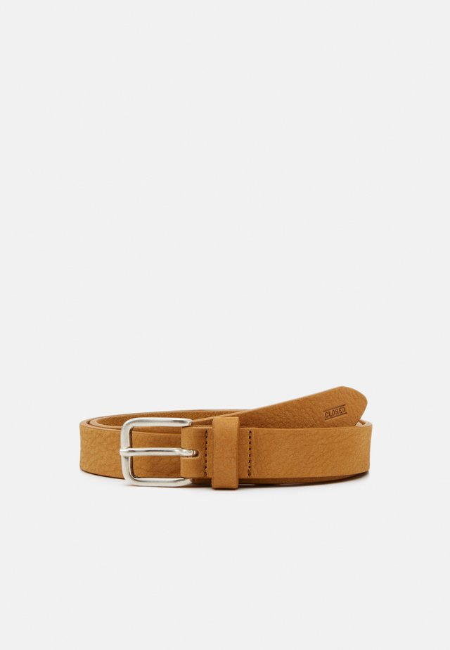 BELT BUCKLE - Gürtel - butterscotch
