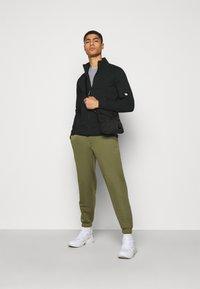 C.P. Company - OPEN - Zip-up sweatshirt - black - 1