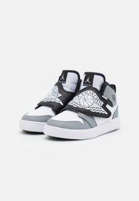 Jordan - SKY 1 UNISEX - Basketball shoes - white/black/particle grey - 1