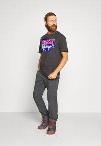 Fox Racing - PREMIUM TEE - T-Shirt print - black - 1