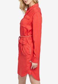khujo - LEANNA - Shirt dress - red - 4