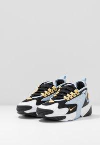 Nike Sportswear - ZOOM 2K - Sneakers - black/metallic gold/white/sail/gym red - 4