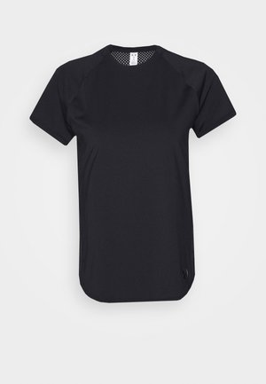 SPORT HI LO  - T-shirts basic - black