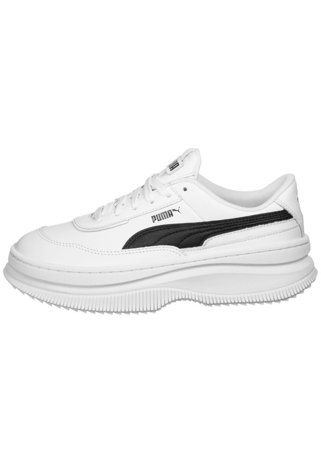 SCHUHE DEVA L W - Matalavartiset tennarit - white- black