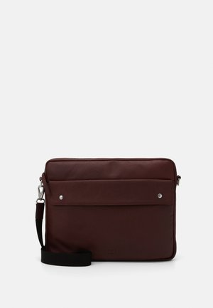 THOR LAPTOP MESSENGER - Across body bag - oxblood