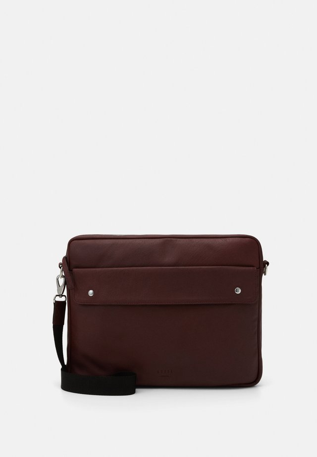 THOR LAPTOP MESSENGER - Skulderveske - oxblood