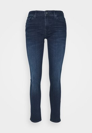 PYPER SLIM ILLUSION STARRY - Skinny džíny - dark blue