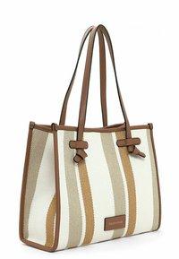 Emily & Noah - Handbag - cognac-stripes - 3