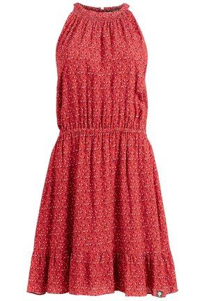 KELSA - Sukienka letnia - rot geblümt