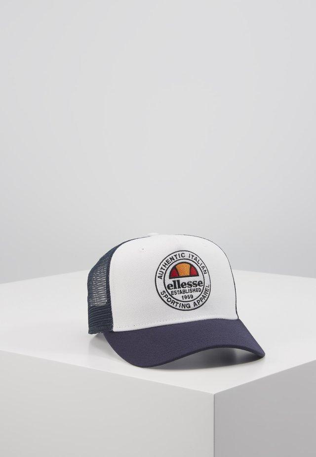 PONTRA TRUCKER - Cap - white/navy