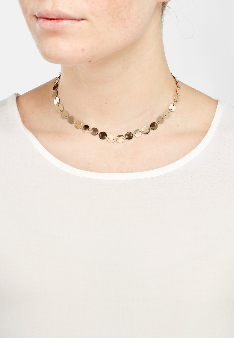 Heideman - Necklace - rose goldfarbend