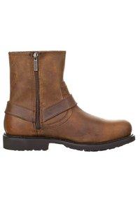 Harley Davidson - SCOUT - Cowboy/biker ankle boot - brown - 3