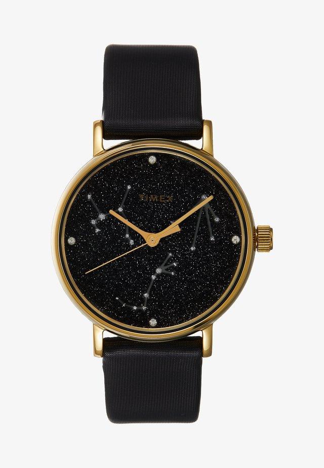 WOMEN'S CELESTRIAL OPULENCE WITH SWAROVSKI BLACK DIAL - Horloge - black