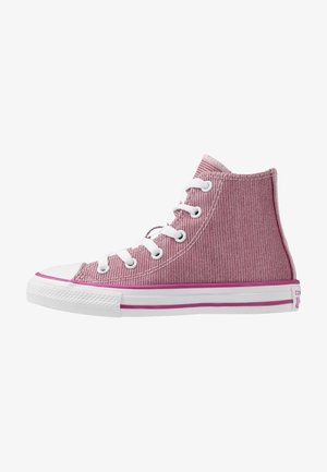 CHUCK TAYLOR ALL STAR GLITTER - High-top trainers - light rouge/pink glaze/cactus flower