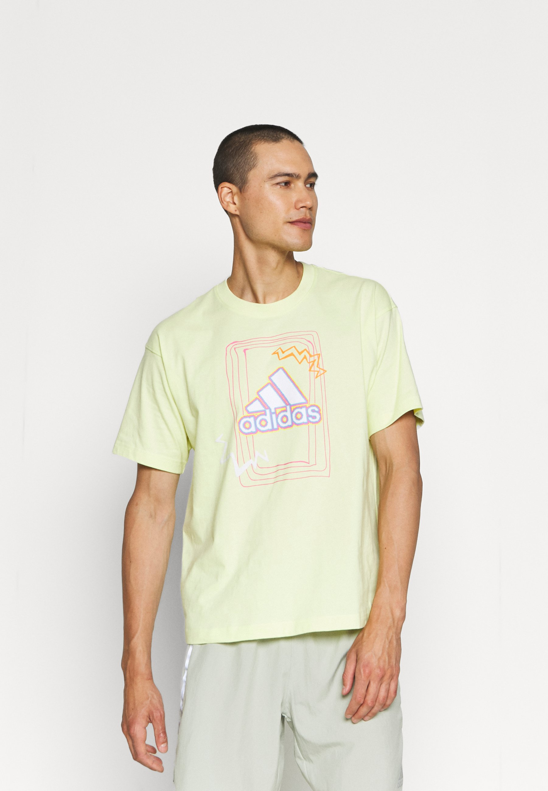 Men BADGE OF SPORT GRAPHICS - Print T-shirt