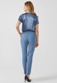 Aaiko - SOLLO VIS 345 - Trousers - steel blue a - 2