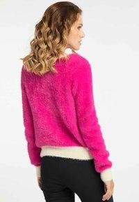 faina - Cardigan - pink - 2