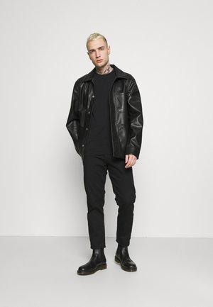 UMTEE RANDAL 3 PACK - Camiseta básica - black/pink/grey melange