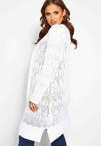 Yours Clothing - Cardigan - white - 2