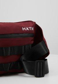 HXTN Supply - UTILITY TAPER CROSSBODY - Bum bag - burgundy - 5
